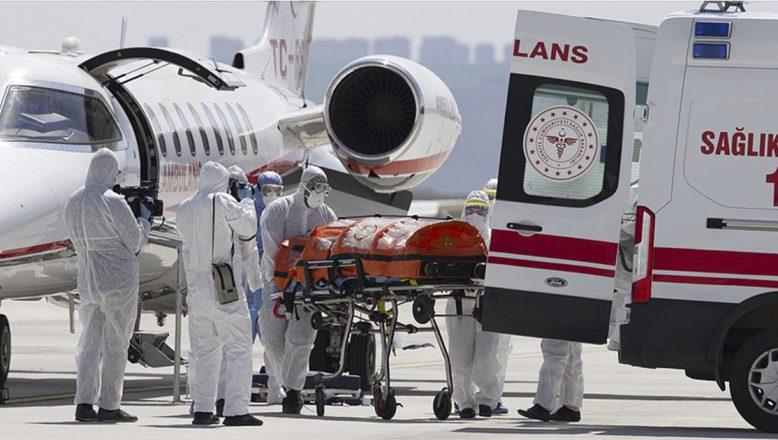 """Türk hasta """"İsveç'te tedavi edilmedi, Türkiye'ye ambulans uçakla getirildi"""""""