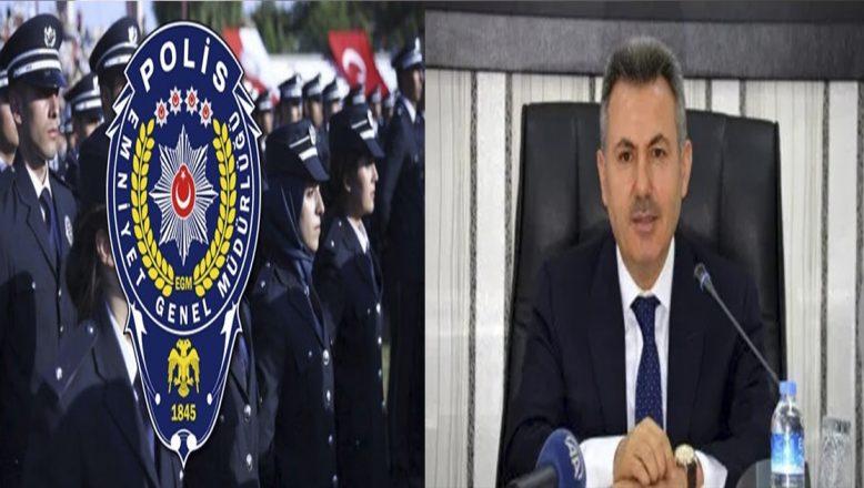 Vali Elban'dan Polis Haftasını Kutlama Mesajı