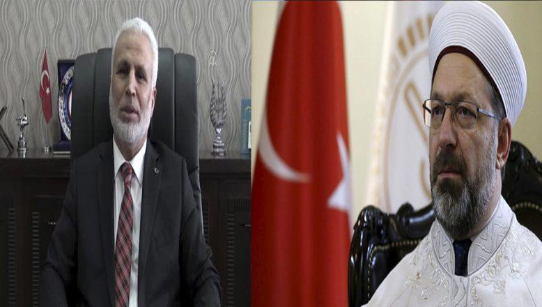 Ağrı Müftüsü Topçu'dan Diyanet İşleri Başkanı Erbaş'a destekgeldi