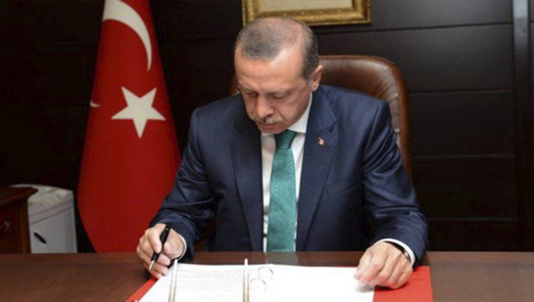 Cumhurbaşkanı Erdoğan Atama Kararlarını İmzaladı