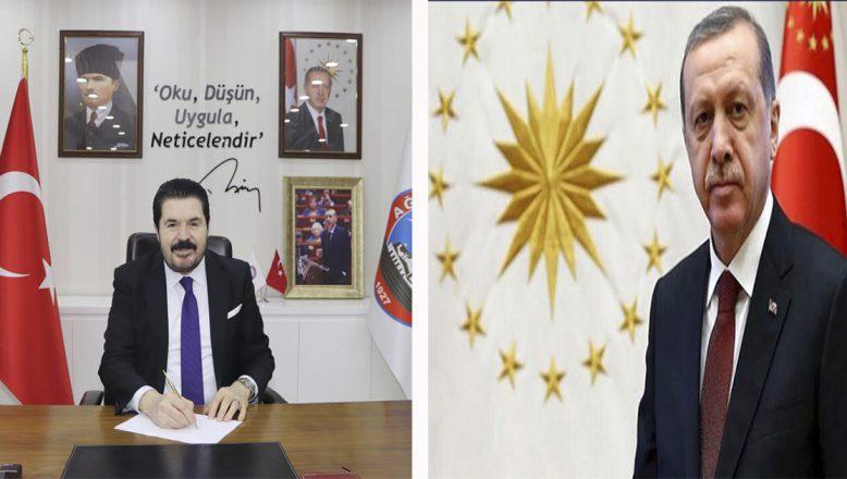 Cumhurbaşkanı Erdoğan'dan Ağrı'nın Düşman İşgalinden Kurtuluşunun 102. Yıl Dönümü  Kutlaması