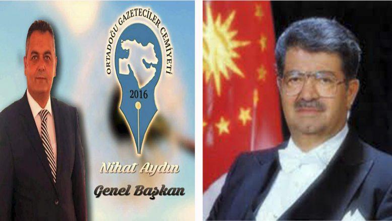 OGC Genel Başkanı Aydın, 8. Cumhurbaşkanı Özal'ın vefatının 27. yılı nedeniyle bir mesaj paylaştı