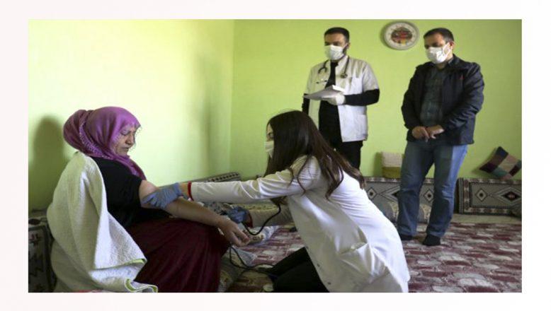 Ağrı'da, Devletin Şefkat Elini Kırsaldaki Vatandaşlara Uzatıyorlar