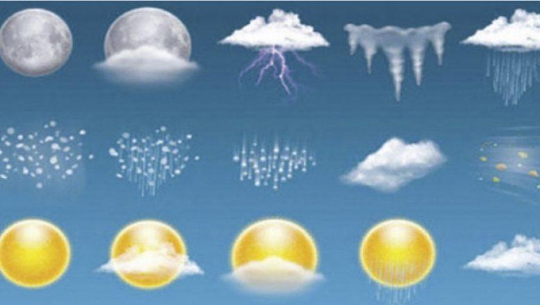 Meteoroloji:Doğu'da 3 ilde karla karışık yağmur ve kar yağışı bekleniyor