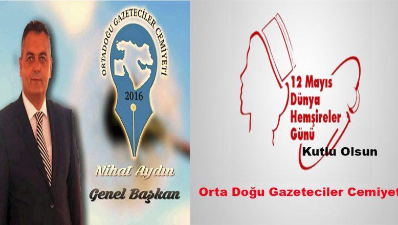 """OGC'den""""Dünya Hemşirelik Haftası""""Kutlama Mesajı"""