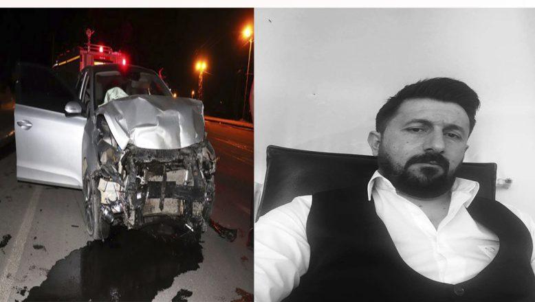 Ağrı'da trafik kazasında bir kişi hayatını kaybetti