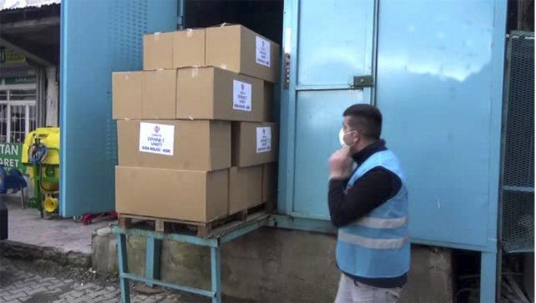 Ağrı'da, Vefa Sosyal Destek Grubu İhtiyaç Sahibi 300 Aileye Gıda Yardımında Bulundu