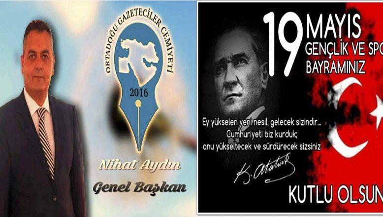 """OGC'nin """"19 Mayıs Gençlik ve Spor Bayramı"""" Mesajı"""