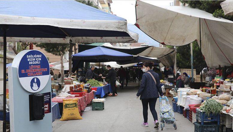 Pazar yerlerinde bazı ürünlerin satışı ile ilgili kısıtlamalar kalkıyor