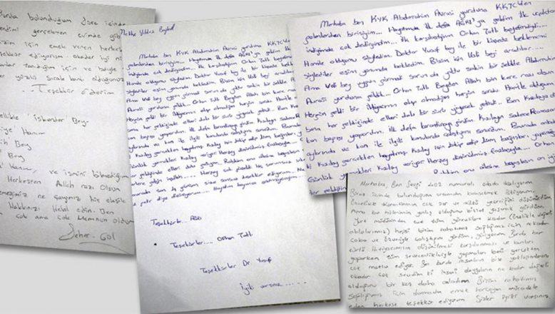 Ağrı'da karantinaya alınan vatandaşlardan duygu yüklü mektuplar