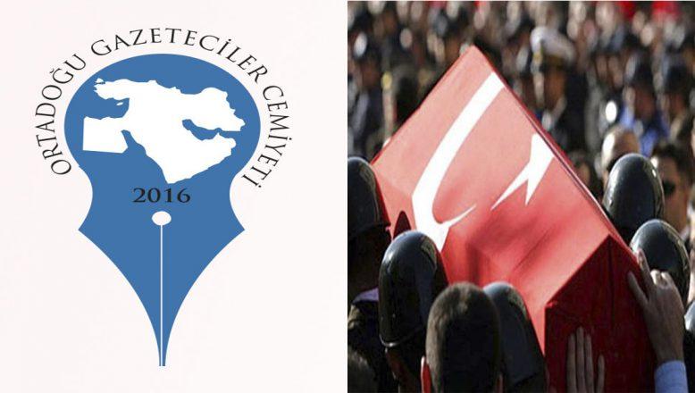 OGC'den Bitlis'te şehit düşen askerler için başsağlığı mesajı