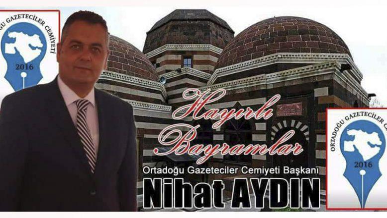 OGC Genel Başkanı Aydın'ın Ramazan Bayramı Kutlama Mesajı