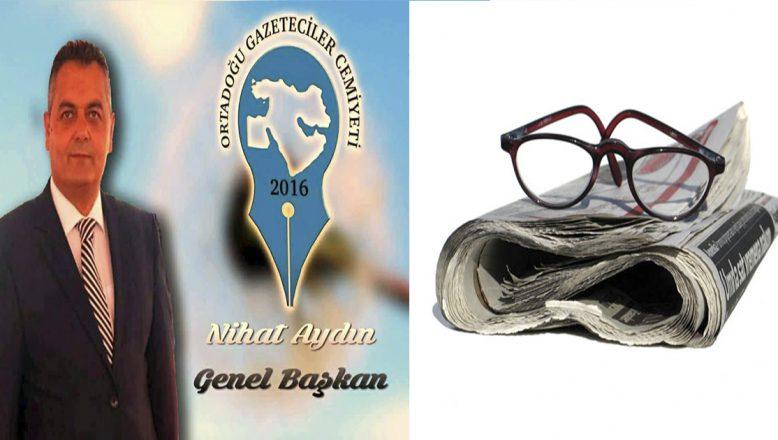 """OGC Genel Başkanı AYDIN'IN """"3 Mayıs Dünya Basın Özgürlüğü"""" Mesajı"""