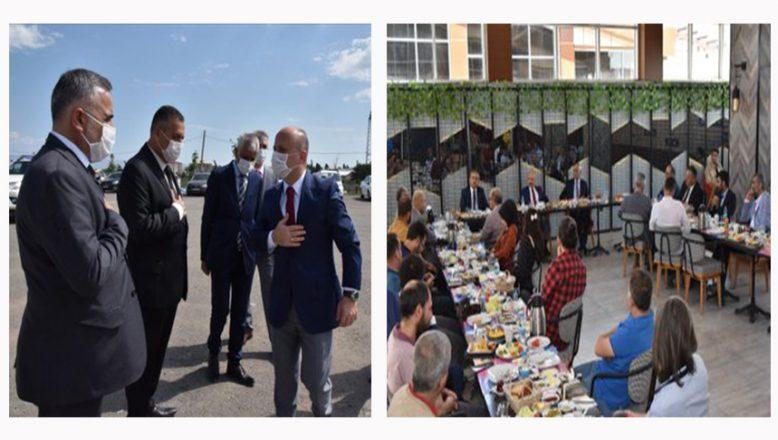 Ağrı Valisi Dr. Osman Varol, Basın Mensupları ile Kahvaltıda Bir Araya Geldi
