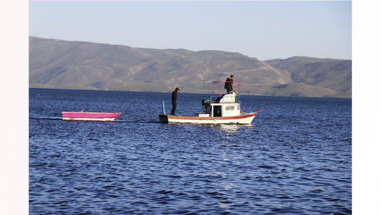 Ağrı'da 'Saklı cennet Balık Gölü' doğa tutkunlarının vazgeçilmez adresi oldu