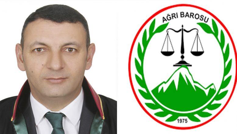 Ağrı Barosu Başkanı Aydın: Avukatlık Kanunu'nda yapılacak değişiklik, seçim sistemine özgü olmamalıdır