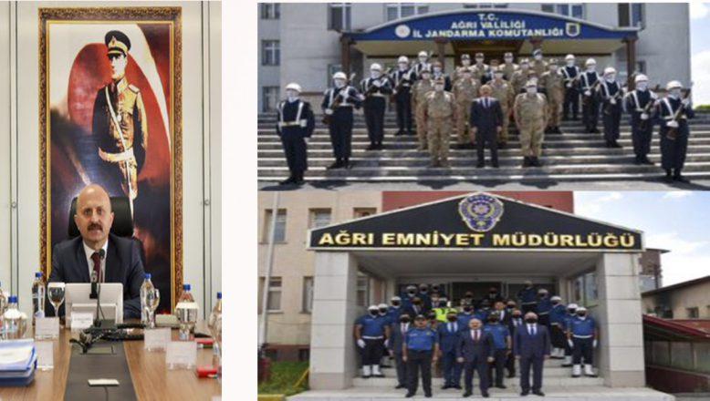 Ağrı Valisi Dr. Osman Varol'dan Güvenlik Güçlerine Ziyaret