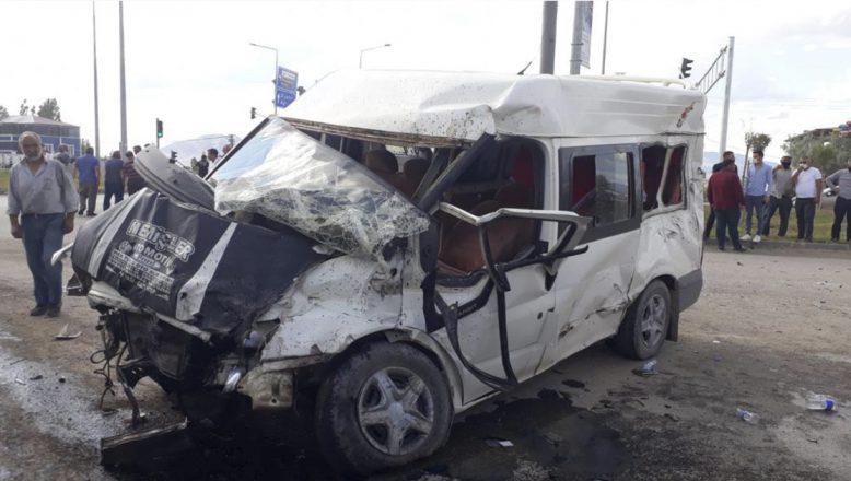 Ağrı'da Trafik Kazası Bir Kişi Ağrı Yaralandı