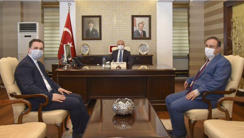 Ağrı Valisi Dr. Osman Varol'un Yoğun Ziyaretçi Kabulü
