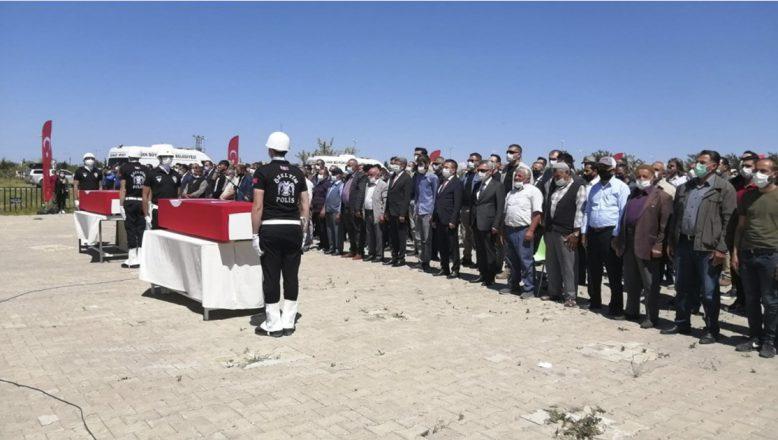 Van'da Hain Saldırıda Şehit Düşen İşçiler İçin Tören Düzenlendi