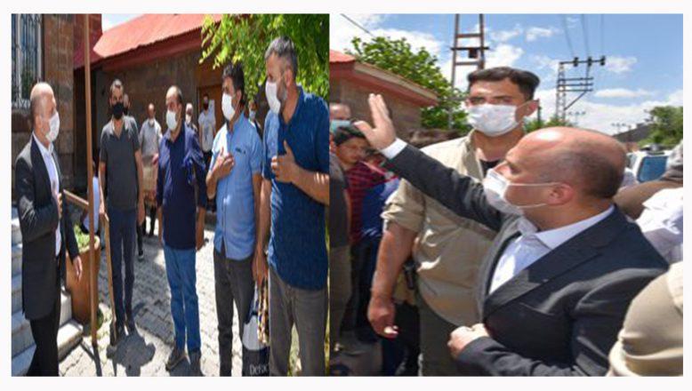 Ağrı Valisi Varol, Cuma Namazını Vatandaşlarla Birlikte 100. Yıl Mahallesinde  Eda Etti