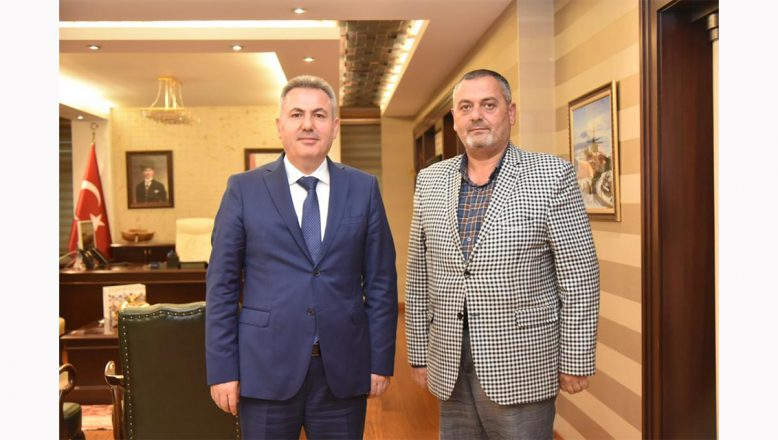 OGC Genel Başkanı Aydın'dan, Vali Süleyman Elban'a Veda Ziyareti