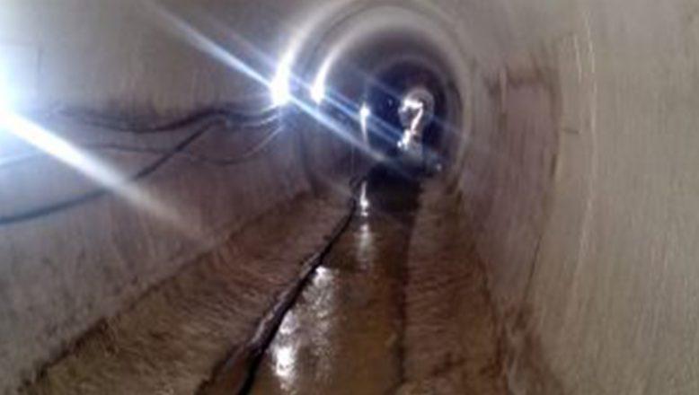 Ağrı'daki Yazıcı Sulama Derivasyon Tüneli inşaatında sona gelindi