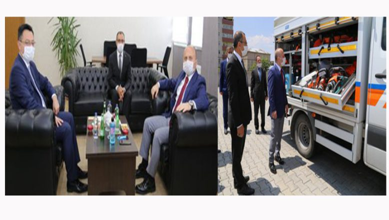 Vali Varol, İl Afet Ve Acil Durum Müdürlüğünü Ziyaret Etti
