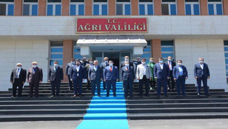 Ağrı'da Ayakkabı Fabrikası Temel Atma Töreni Heyecanı