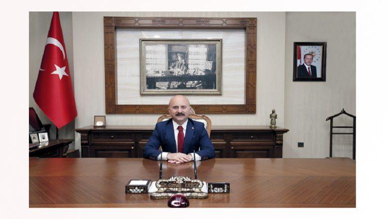 Amasya Valisi  Dr. Osman Varol Ağrı Valiliğine Atandı