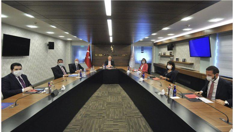 Başkan Sayan, Turizm Bakanı Ersoy başkanlığında düzenlenen Ağrı Dağı Turizm toplantısına katıldı