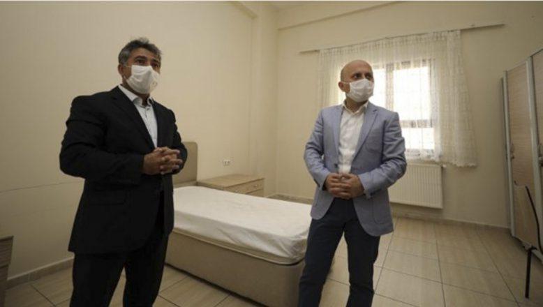 Ağrı'da Koronavirüs Pozitif Hastalar KYK Ahmed-i Hani Öğrenci Yurdunda karantinaya alınacak