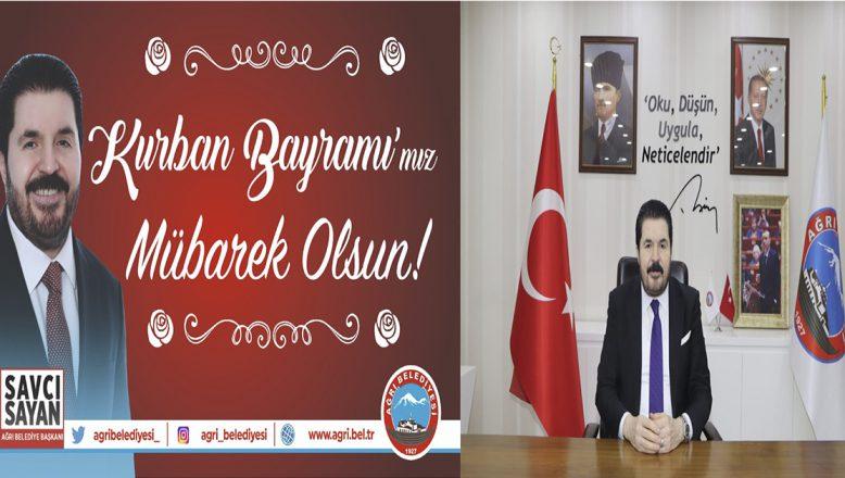 Başkan Savcı Sayan'ın Kurban Bayramı Mesajı