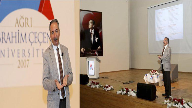 AİÇÜ Rektörü Prof. Dr. Abdulhalik KARABULUT, BASINLA BULUŞTU