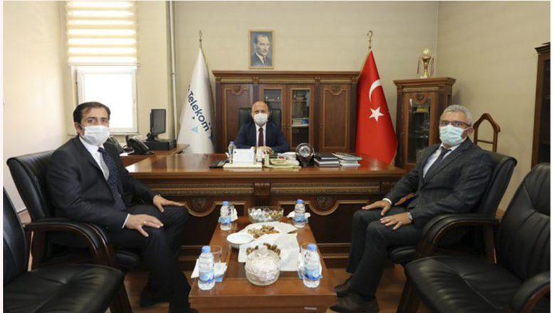 Vali Varol'dan Türk Telekom İl Müdürlüğü Ziyareti