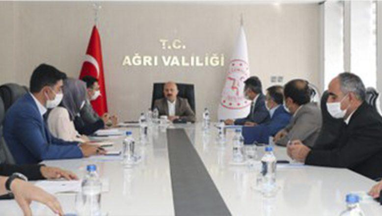 Vali Varol Başkanlığında Tarım ve Hayvancılık Proje Toplantısı Gerçekleştirildi