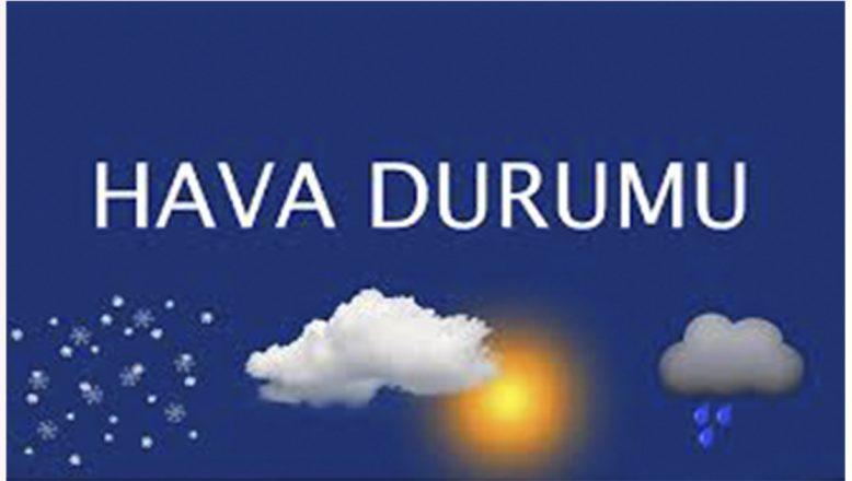 Doğu Anadolu Bölgesinde Hava Sıcaklıkları Mevsim Normallerinde Seyredecek