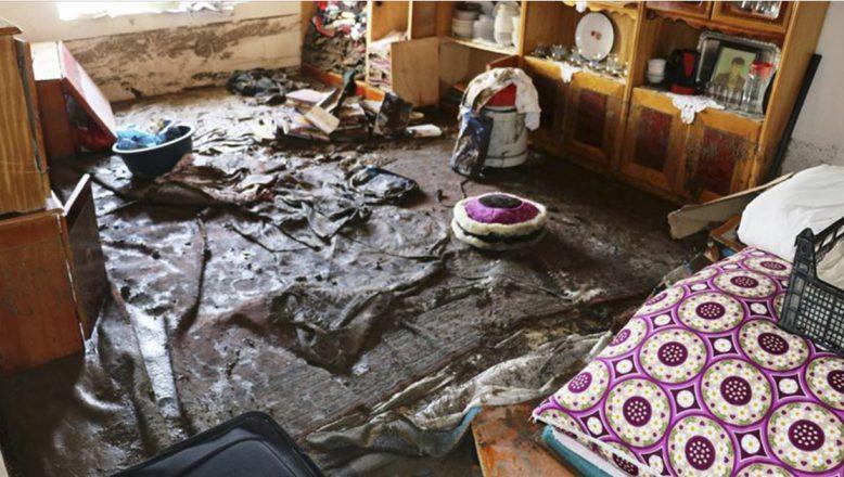 Ağrı'da selden zarar gören köyde yaralar sarılıyor