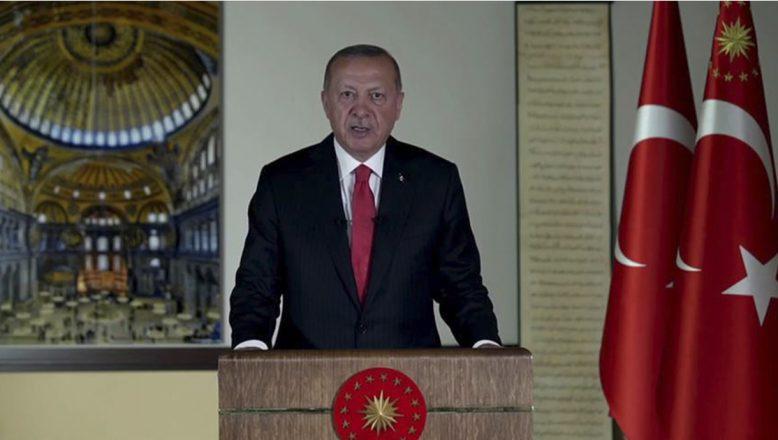 """Cumhurbaşkanı Erdoğan:""""24 Temmuz 2020 Cuma günü Ayasofya'yı ibadete açmayı planlıyoruz"""""""
