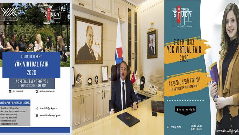 AİÇÜ 'Study in Turkey YÖK Sanal Fuarı 2020'ye Katılacak