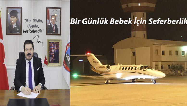 Başkan Savcı Sayan'dan, Cumhurbaşkanı Erdoğan ve Bakan Koca'ya Teşekkür