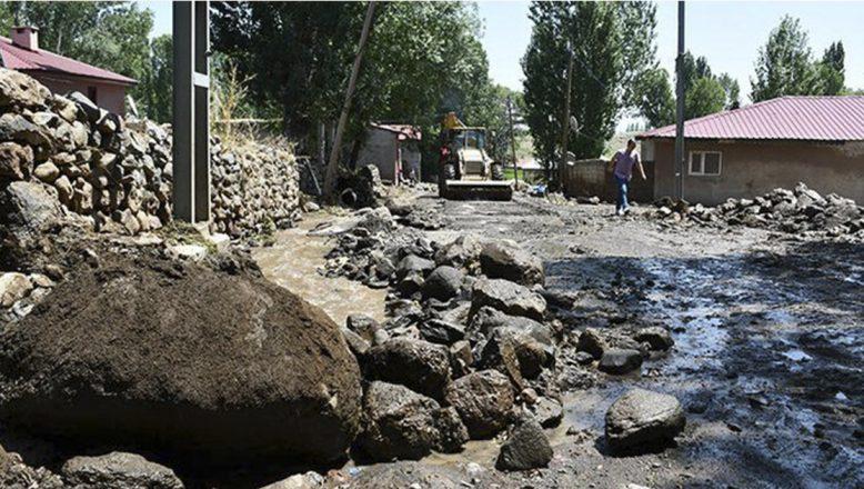 Ağrı'daki selin ardından hasar tespit çalışmalarına başlandı
