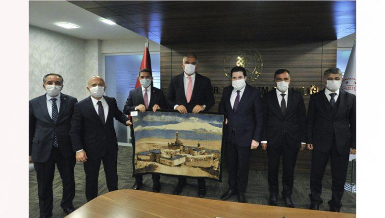 Ağrı'nın ilk 'turizm zirvesi' Ankara'da yapıldı