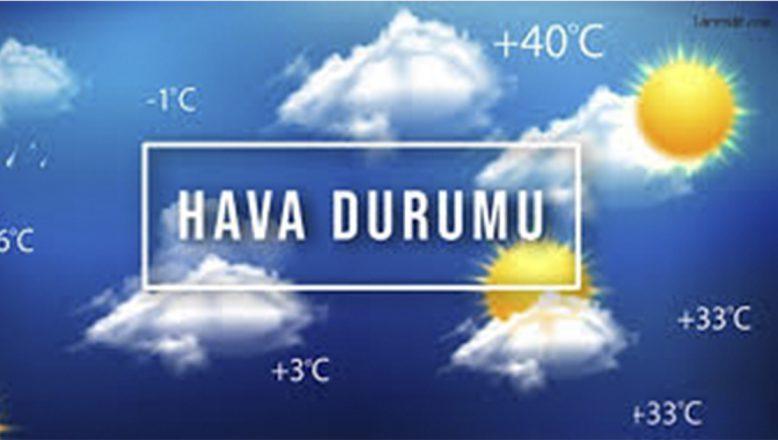 Ağrı ve çevre illerde hava sıcaklığı nasıl olacak?