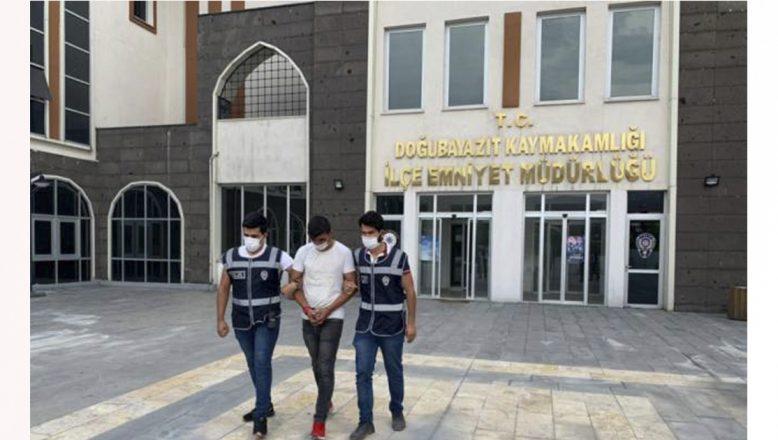 Doğubayazıt'ta sağlık çalışanını darbettiği iddia edilen kişi yakalandı