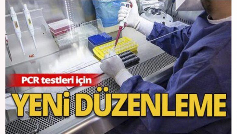 """Sağlık Bakanlığı'ndan """"Kovid-19 PCR"""" testleri ile ilgili yeni düzenleme"""