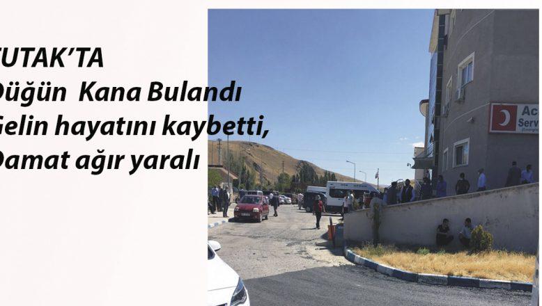 Tutak'daki Feci Kazada Düğün Kana Bulandı,Gelin Hayatını Kaybetti, Damat Ağır Yaralı