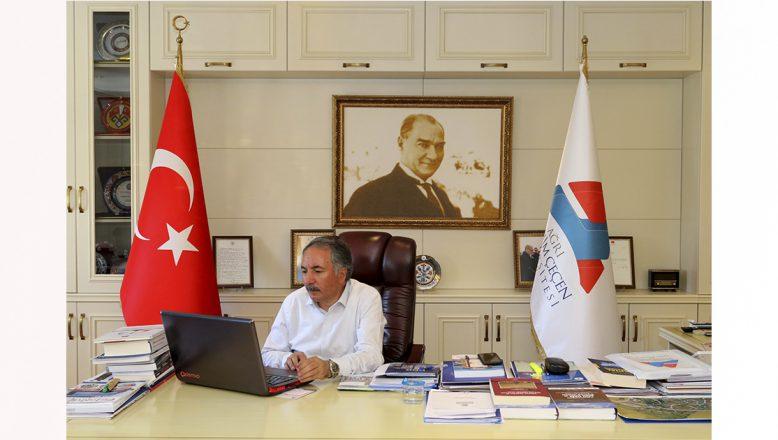 Ağrı İbrahim Çeçen Üniversite'si 'Üniversiteni Keşfet' YÖK Sanal Fuarı'nda