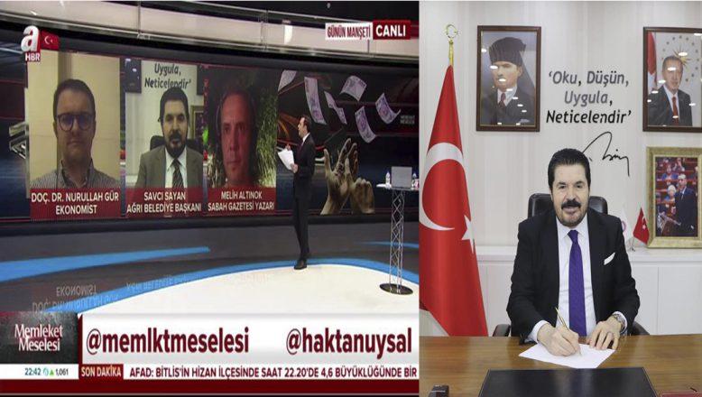 Savcı Sayan'dan Çarpıcı Açıklamalar:Türkiye Ekonomisine Operasyon Yapılıyor
