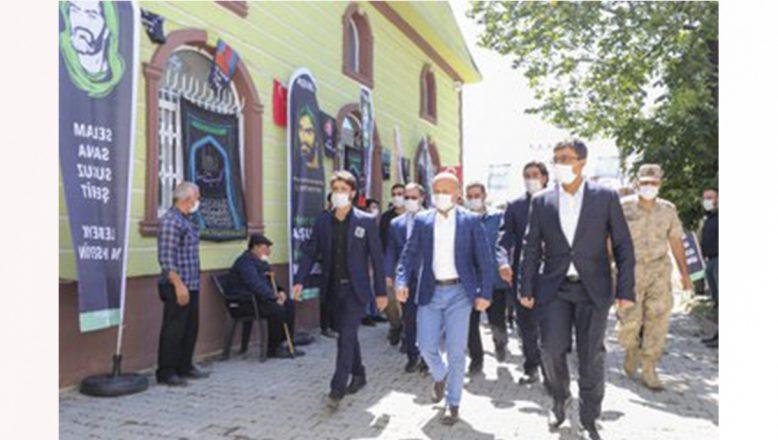 Ağrı Valisi Varol, Kerbela Şehitlerini Anma Programına Katıldı
